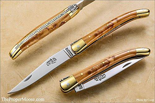 Laguiole Pocket - Authentic 9cm Forge de Laguiole Pocket Knife - Juniper