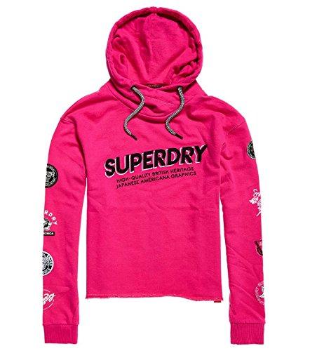 TALLA Small (Talla del fabricante: 10). Superdry Carricropoverhead, Sudadera para Mujer