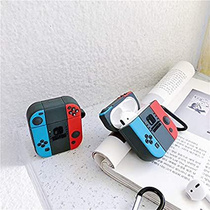 Mylujo - Funda de Silicona para Auriculares Airpods1/2 inalámbricos Bluetooth para Nintendo Switch Game Console Soft Case Cover: Amazon.es: Electrónica