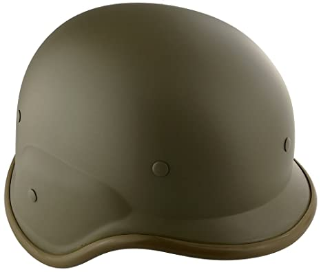 Amazon.com : SportPro Polymer Lightweight Helmet M88 Style for Airsoft - Tan : Sports & Outdoors