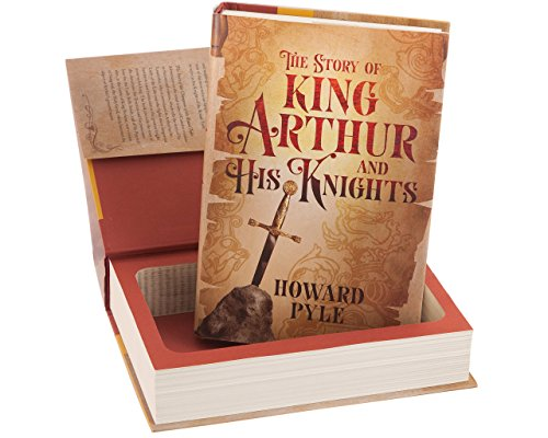 Real Hollow Book Safe - King Arthur and His Knights by Howard Pyle (Magnetic Closure)