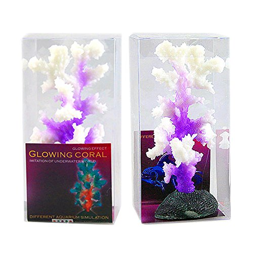 Gold Happy Genuine Glowing Silicone Coral Aquaristics Ornament Fluorescent Effect Aquarium Background