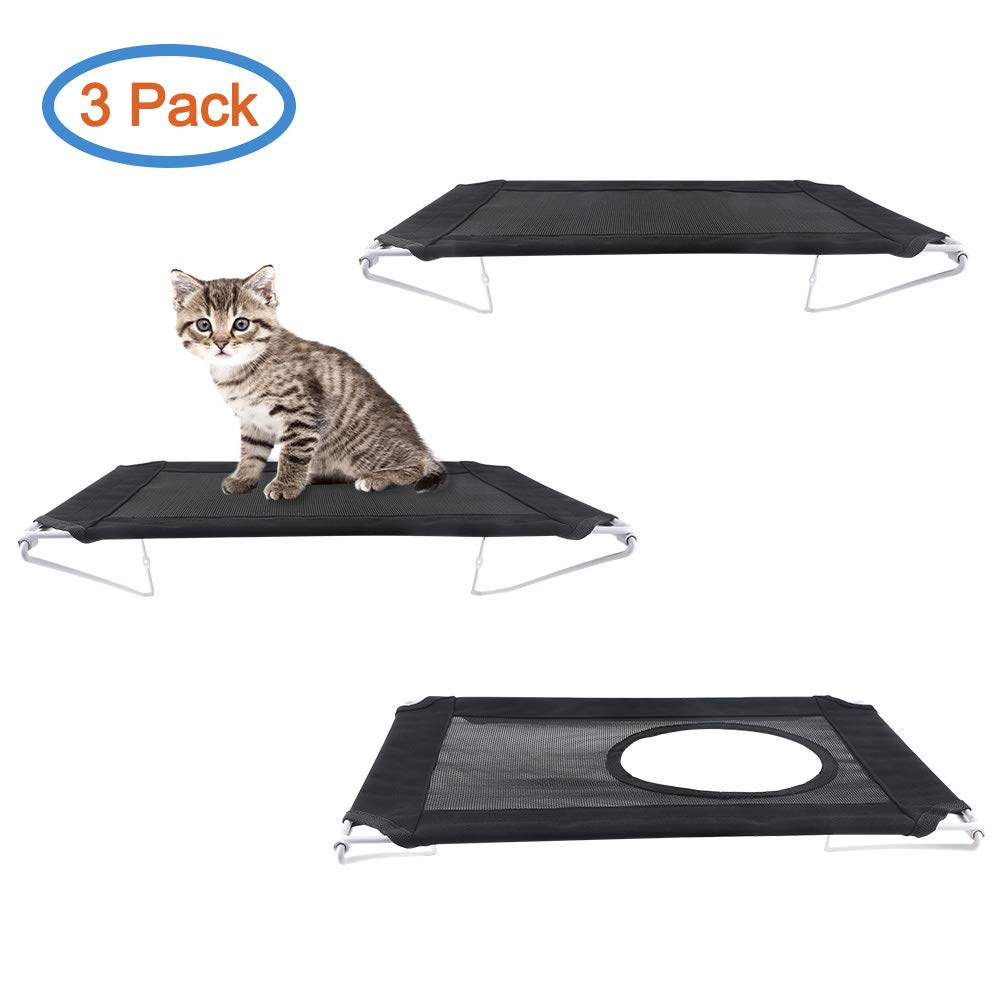 RayCC Cat Shelves Cat Steps Cat Perch Cat Cloud Cat Bed Wall-Mounted Cat Furniture Great for Cat Climbing(Set of 3)