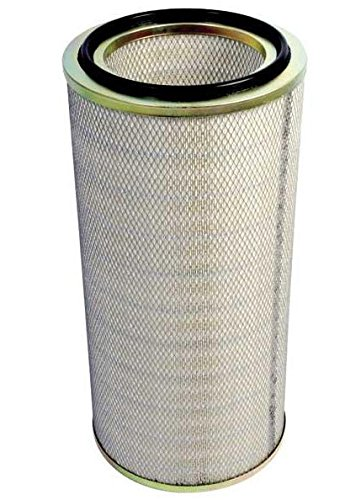"Cartridge Dust Collector Filter for Uniwash / Polaris Intercept Horizontal Dust Collector (13.84"" x 26"") - 80/20 CPFR - Dust Micro Filter"
