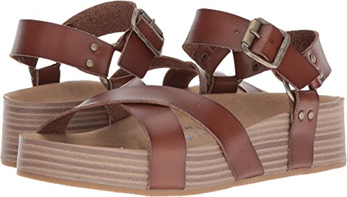 Blowfish Womens Makara Russet Dyecut Pu