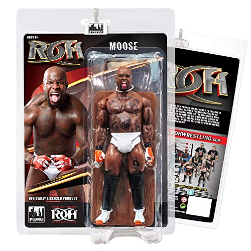 Figures Toy Company Ring of Honor Wrestling Action Figures Series: Moose -