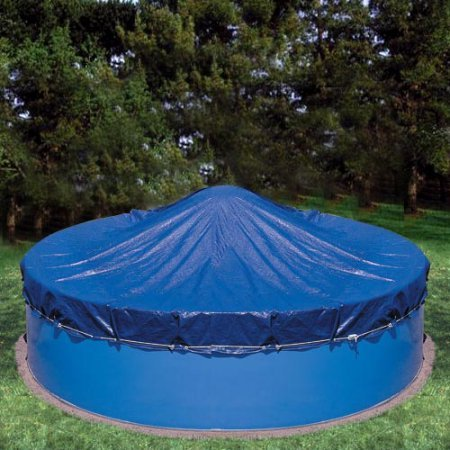 Heritage Deluxe Woven Polyethylene Winter Cover for 30' x 15