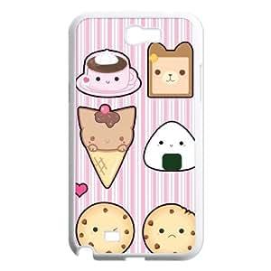 SOPHIA Phone Case Of Ice cream Cute Cartoon Cool Painting For Samsung Galaxy Note 2 N7100