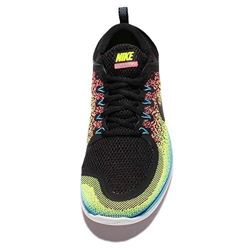 Nike Free RN Distance 2, Scarpe da Corsa Uomo Nero