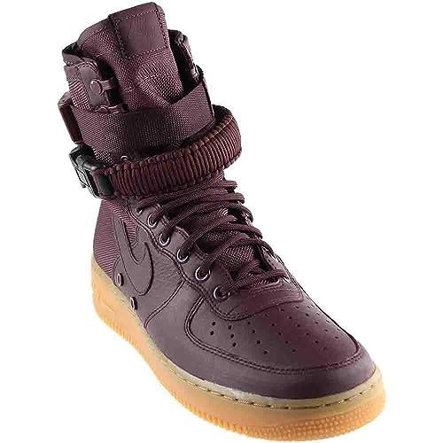 Nike SF Air Force 1 Men's Sneakers Deep BurgundyDeep Burgundy 864024 600 (11.5 D(M) US)