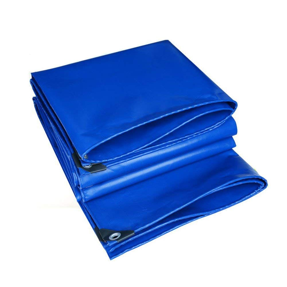 WCS Heavyweight Padded Outdoor Rainproof Waterproof Sunscreen Frostschutzmittel Wasserdichte Segeltuchplane, Stiefel, Camping, Dach oder überdachte oder überdachte Schwimmbadplane (560G / M2) erhältlich