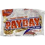 Payday Peanut Caramel Bar, Snack Size, Jumbo Bag, 20.3-Ounce