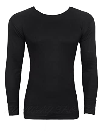 Mens Thermal Long Sleeve Top  Amazon.co.uk  Clothing 58d31bacaeb
