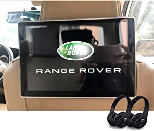 Newest Android 9.0 Headrest TV Player for Range Rover Discovery Vogue Evoque Defender Freelander Car Rear Monitor Include Wireless Headphone