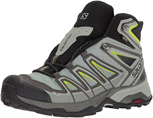 Salomon Men's X Ultra 3 Mid GTX Trail Running Shoe, Beluga, 12 M - 2 Year Us