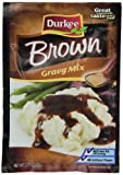 Durkee Brown Gravy Mix, 0.75-Ounce Packets (Pack of 24)