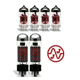 JJ Tube Upgrade Kit For Marshall JCM 2000 DSL 50 DSL 40C Amps EL34/ECC83S