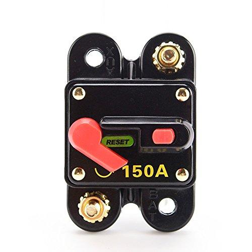 Carviya 150 Amp Circuit Breaker with Manual Reset for Car SUV Marine Boat 12V by Carviya (Image #1)
