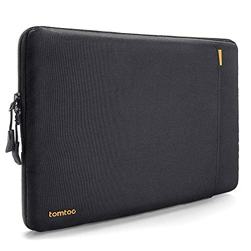 tomtoc 360 Protective Laptop Sleeve Compatible with13 inch New MacBook Pro A1989 A1706 A1708 USB-C | Dell XPS 13, Notebook Bag Case 13'' with Accessory Pocket & CornerArmor Patent by Tomtoc