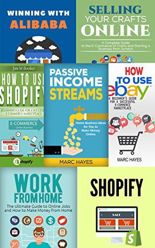 work-from-home-e-commerce-shopify-bundle-2-shopify-books-passive-income-work-from-home-alibaba-ebay-