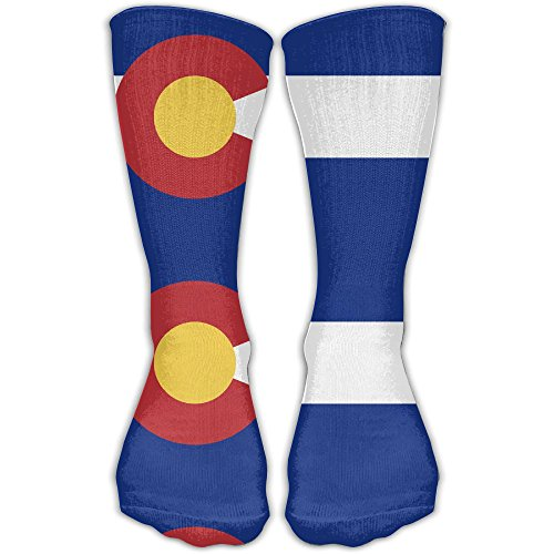 Man Women Mid Calf Length Socks Colorado Basketball Sports Stockings Boot Crew Socks (Colorado Basketball)