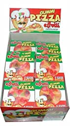 Gummi Pizza by E-Fruitti 48 Count  (Net Wt. 26oz)