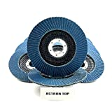 Astron Top Premium Zirconia Flap Disc, 4.5 x 7/8
