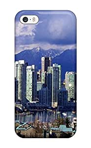 High Grade Esther Bedoya Flexible Tpu Case For Iphone 5/5s - Vancouver City