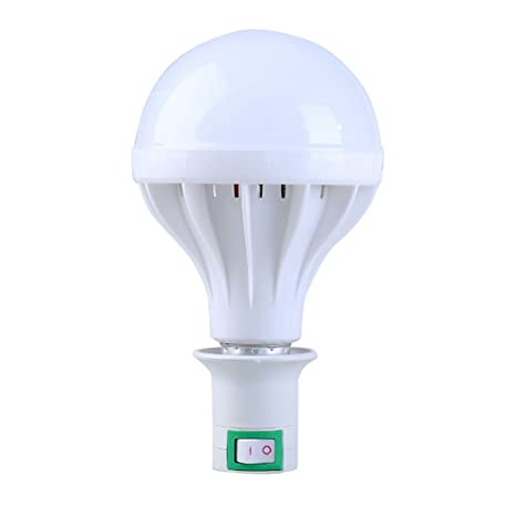 ASL E27 boca del tornillo, enchufe desprendible Enchufe Lámpara Ahorro De Energía Bombilla Del LED