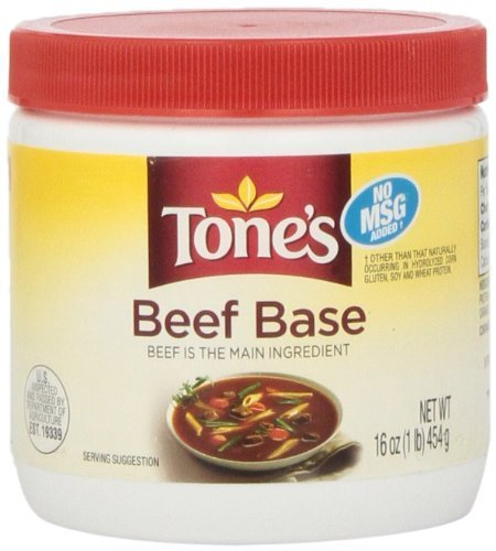 Tone's Base, Beef, 16 Ounce by Tone's (16 Beef)
