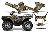 AMRRACING Polaris Sportsman 800/500 2005-2009 Full Custom ATV Graphics Decal Kit - Woodland Camo