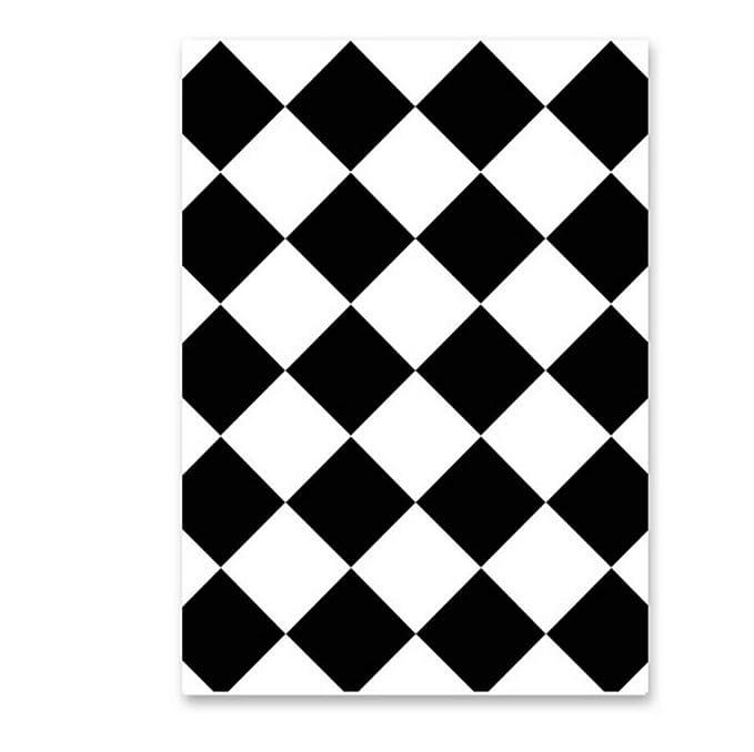 Cartel blanco negro Belleza Cámara vintage Street Wall Art ...