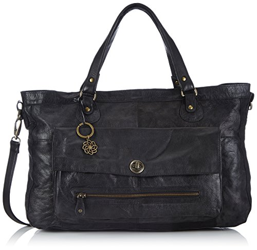 Pieces Totally Royal, Sac porté épaule Noir (Black)