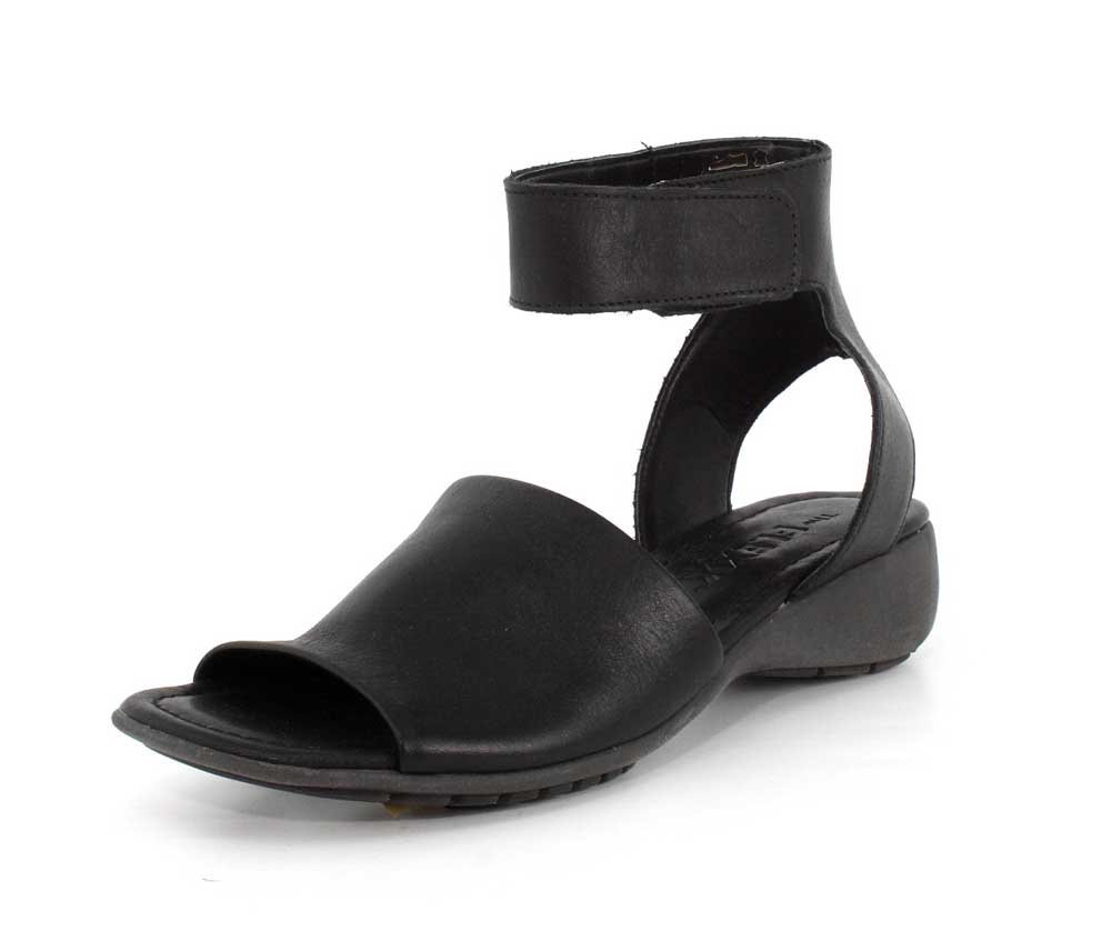 The FLEXX Women's Beglad Wedge Sandal B0779JL2LM 7 B(M) US|Black Vacchetta