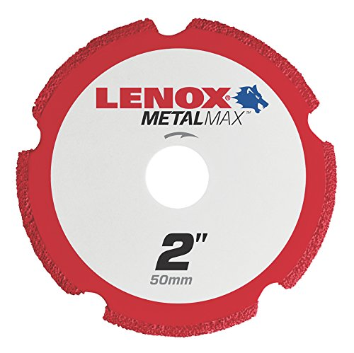 Lenox Tools 1972917 METALMAX Diamond Edge Cutoff Wheel, 2'' x 3/8'' by Lenox Tools