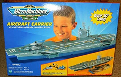 27 Long Aircraft Carrier With Solrs And 3 Aircrafts