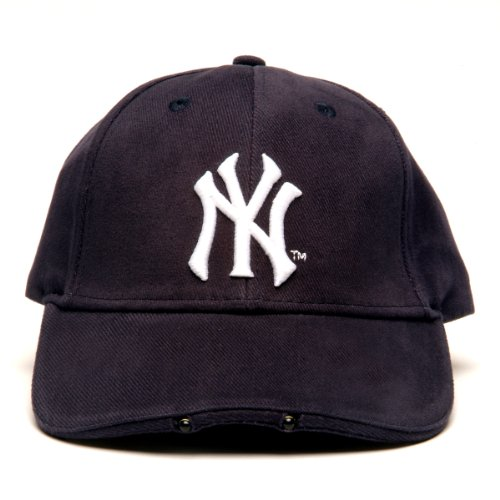 MLB New York Yankees Dual LED Headlight Adjustable Hat