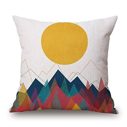 [Geometric Throw Pillow Covers 20 X 20 Inches / 50 By 50 Cm For Bedding,outdoor,kids Boys,monther,seat,father With Both Sides by] (Dr Gregory House Costume)