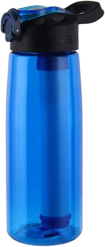 CORB Botella de Agua filtrada portátil, Botella purificador de ...