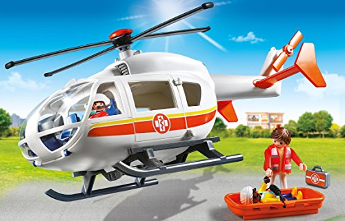 Playmobil Helicóptero Médico de Emergencia 6686 4