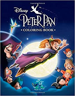 Peter Pan Coloring Book: Great 33 Illustrations for Kids ...