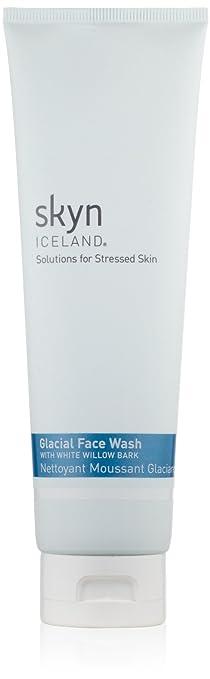 skyn ICELAND Glacial Face Wash, 5 fl. oz. Devita Natural Moisture Boost Hyaluronic Serugel - 1 Oz, 2 Pack