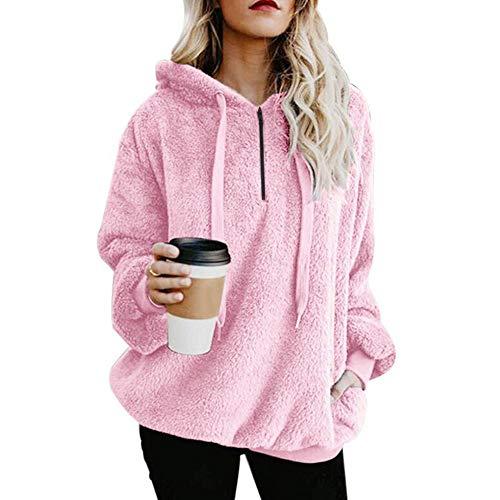 Oversized Warm Fuzzy Sweatshirt
