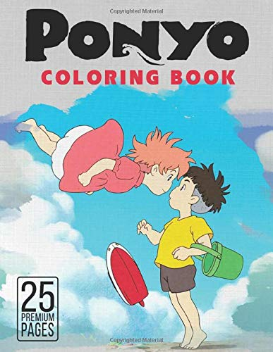 Free Ponyo Coloring Pages, Download Free Clip Art, Free Clip Art ... | 500x387