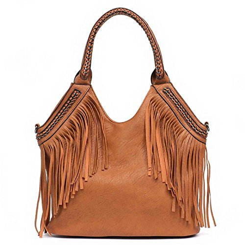 Bag Bag Messenger Fringe Handbags Women As Vegan Of Hobo Bags Bags Shoulder Chain Leather Fashion Big Handle Bag Tote Women's vpwq7zq