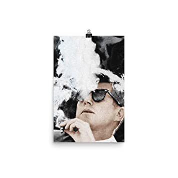 Amazon.com: Póster de John F Kennedy Cigar and Sunglasses ...