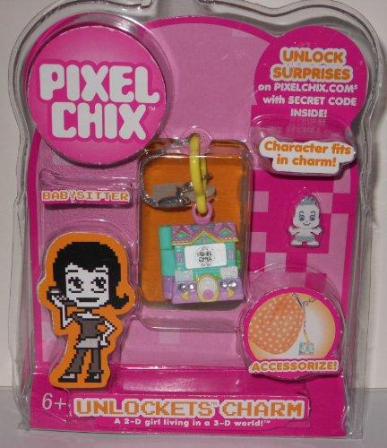 Pixel Chix Unlockets Charm – Babysitter