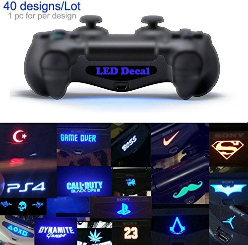 40-PcsSet-Led-Lightbar-Light-Bar-decal-Skin-Stickers-For-PS4-Playstation-4-Controller