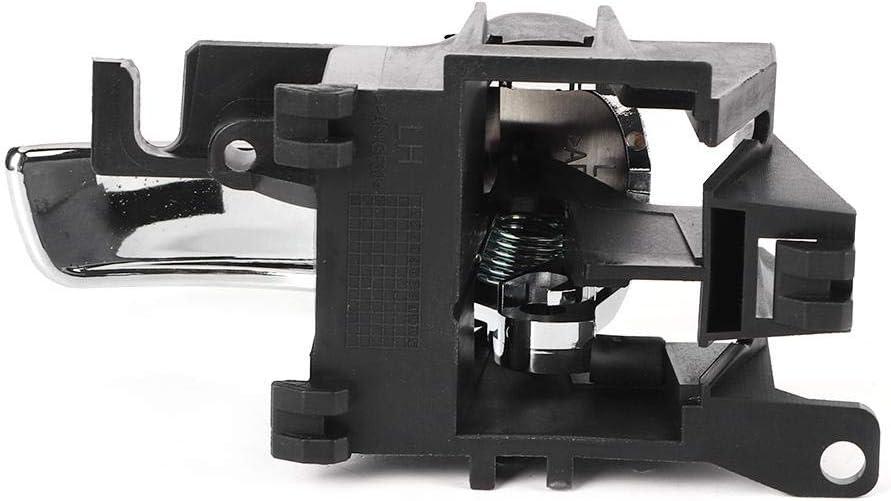 poign/ée de Porte int/érieure de Voiture Compatible avec Ni-ssan Na-Vara D40 Ute Pathfinder R51 05//2005-2013 OE80671-4X02B Vobor Poign/ée de Porte int/érieure Gauche de Voiture