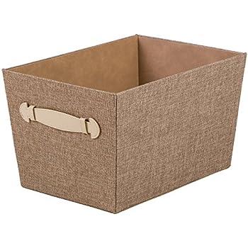 creative scents fabric decorative storage basket sand dunes - Decorative Storage Baskets
